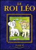 "French ""Le roi Léo (vol. 2)"" DVD-box cover"